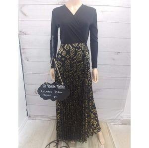XS LLR Elegant Deanne Wrap Dress - NWT
